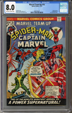 Colorado Comics - Marvel Team-Up #16  CGC 8.0