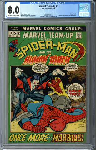 Marvel Team-Up #3 CGC 8.0