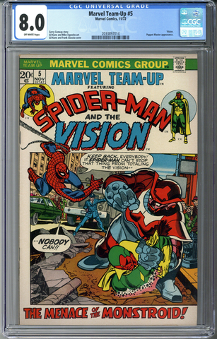 Marvel Team-Up #5 CGC 8.0