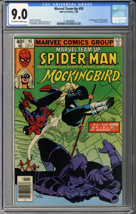 Colorado Comics - Marvel Team-Up #95  CGC 9.0