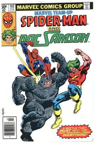 Marvel Team-Up #102 NM+