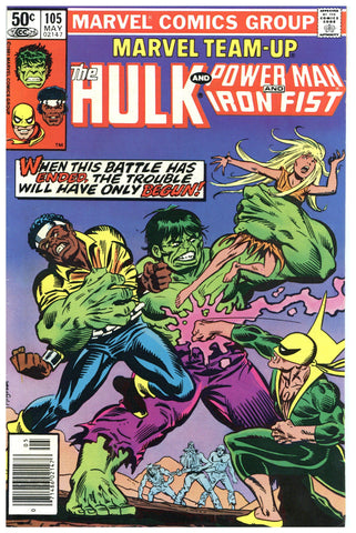 Marvel Team-Up #105 VF