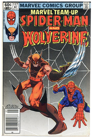 Marvel Team-Up #117 VF+