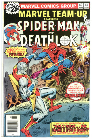 Marvel Team-Up #46 VF-