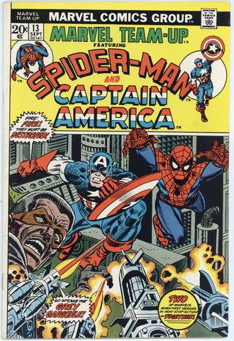 Marvel Team-Up #13 VF+