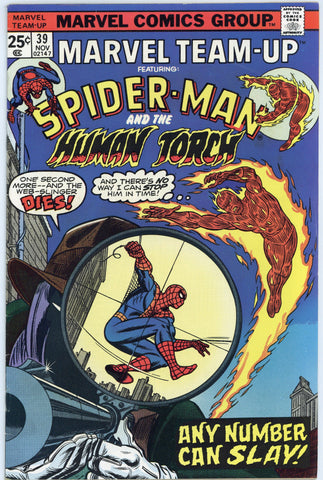 Marvel Team-Up #39 VF-