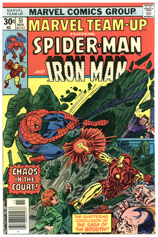 Marvel Team-Up #51 NM
