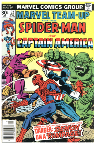 Marvel Team-Up #52 NM