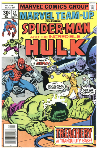 Marvel Team-Up #54 VF