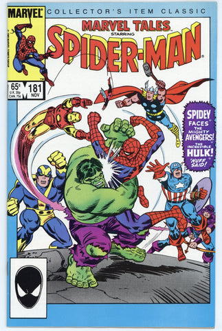Marvel Tales #181 NM