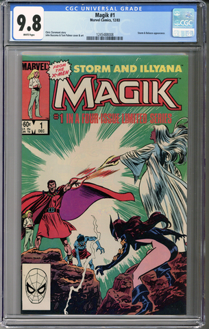 Storm and Illyana MAGIK #1 CGC 9.8