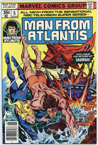 Man from Atlantis #5 NM-