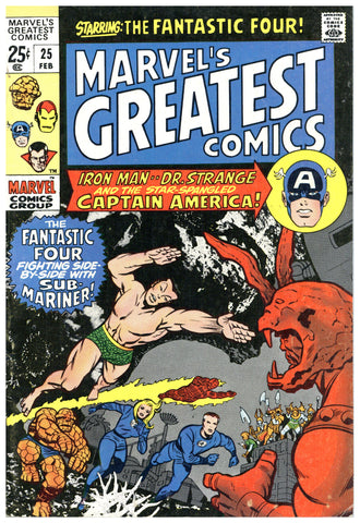Marvel's Greatest Comics #25 F/VF