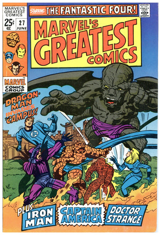 Marvel's Greatest Comics #27 VF/NM