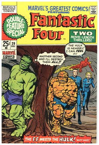 Marvel's Greatest Comics #29 F/VF