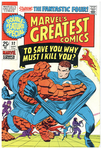 Marvel's Greatest Comics #32 VG/F