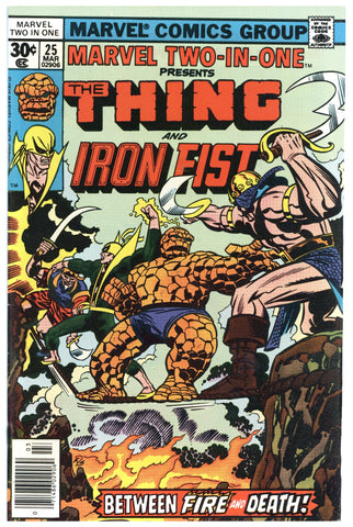 Marvel Two-In-One #25 NM-