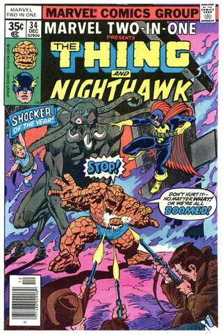 Marvel Two-In-One #34 VF