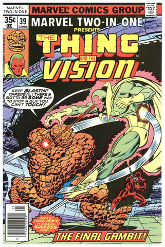 Marvel Two-In-One #39 NM