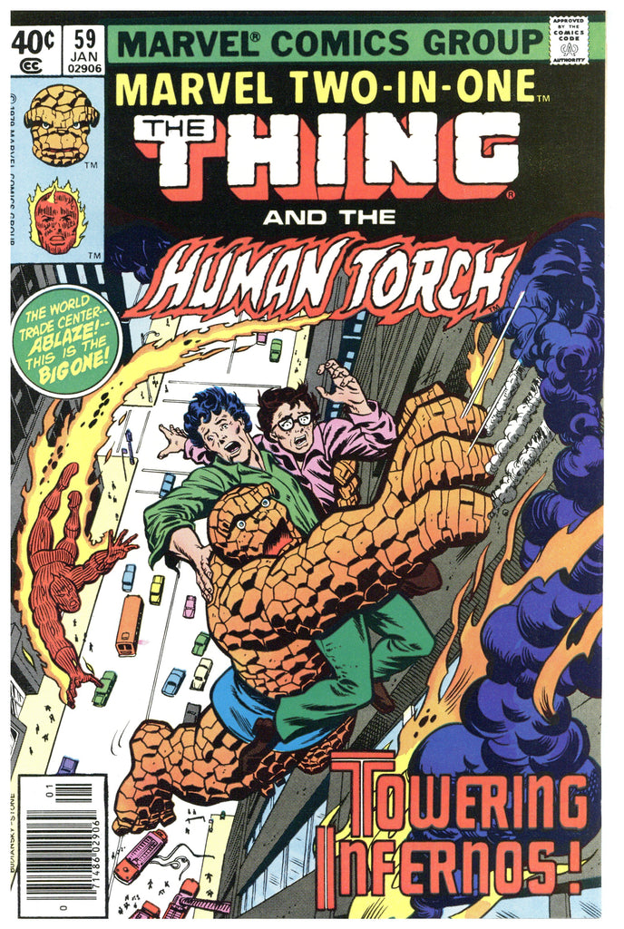 Marvel Two-In-One #59 NM+