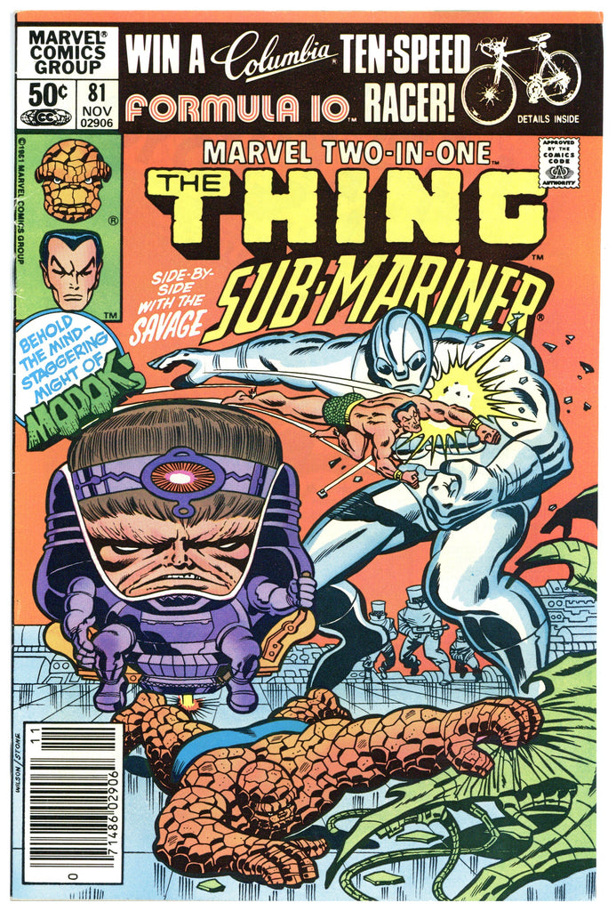 Marvel Two-In-One #81 VF-