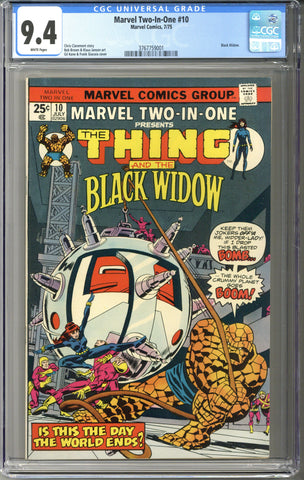 Marvel Two-In-One #10 CGC 9.4