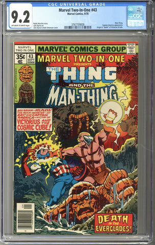 Marvel Two-In-One #43 CGC 9.2