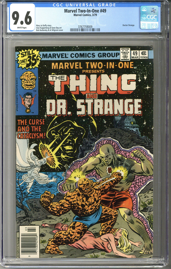Marvel Two-In-One #49 CGC 9.6