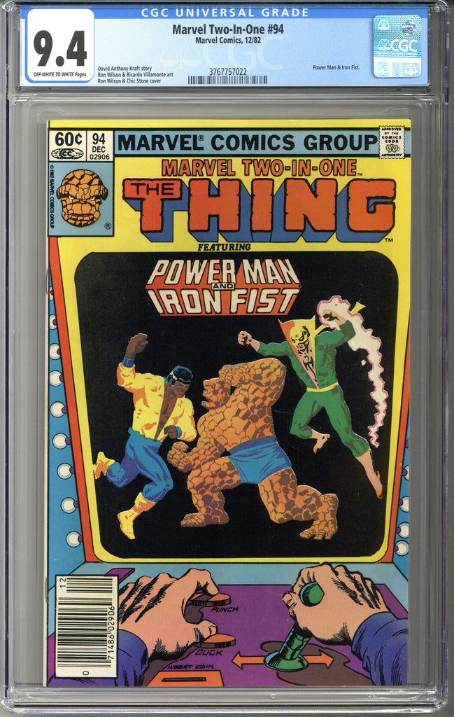 Marvel Two-In-One #94 CGC 9.4