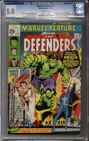Colorado Comics - Marvel Feature #1  CGC 5.0