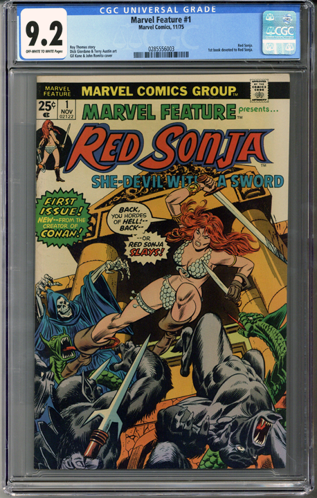 Colorado Comics - Marvel Feature #1  CGC 9.2