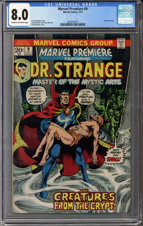 Colorado Comics - Marvel Premiere #9  CGC 8.0