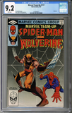 Colorado Comics - Marvel Team-Up #117  CGC 9.2