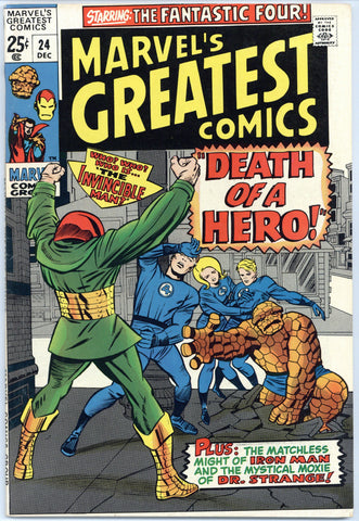 Marvel's Greatest Comics #24 VF