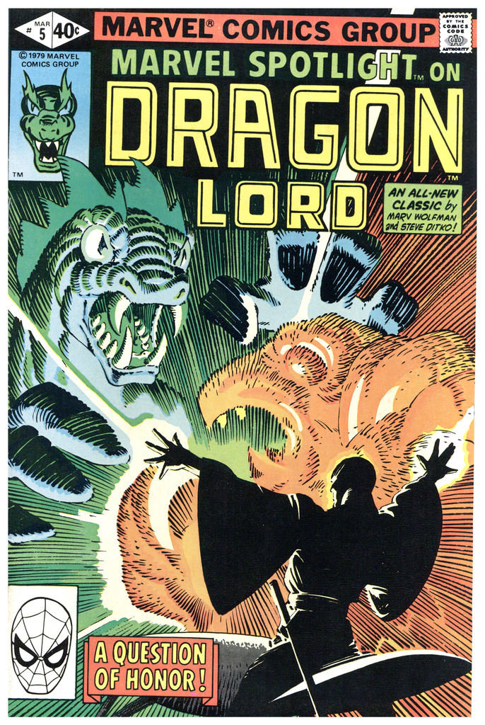 Marvel Spotlight on Dragon Lord #5 NM