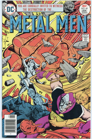 Metal Men #49, 50 & 51 VF to NM