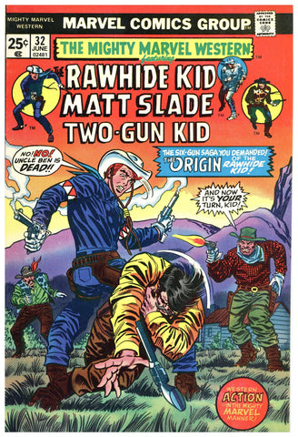 Mighty Marvel Western #32 VF+