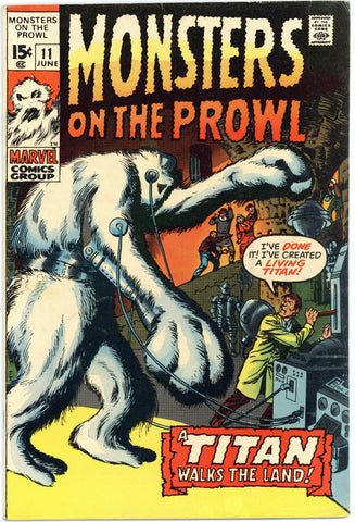 Monsters on the Prowl #11 F/VF