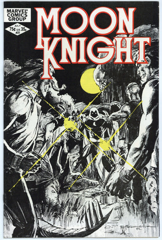 Moon Knight #21 NM-