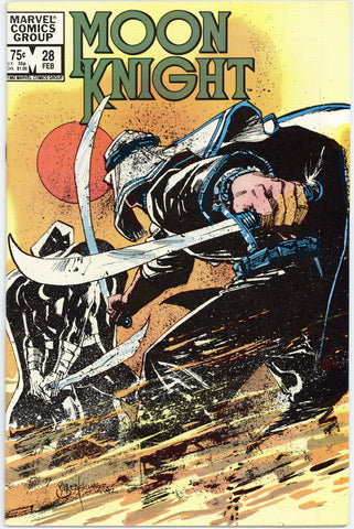 Moon Knight #28 NM-
