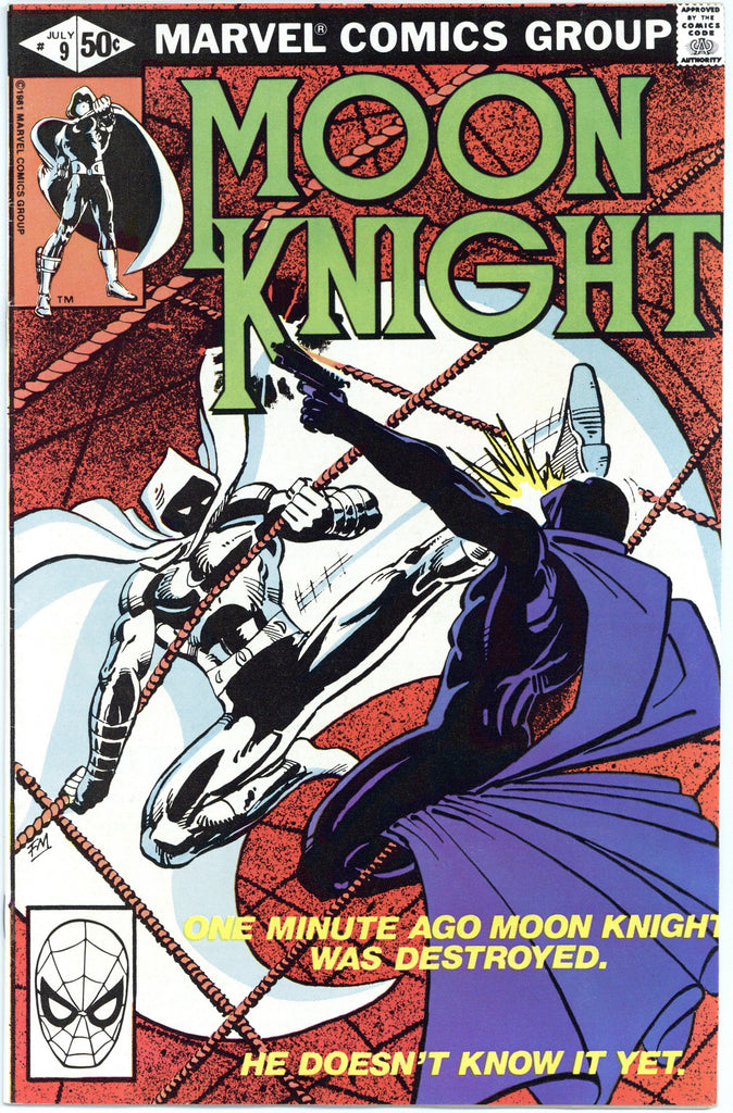 Moon Knight #9 NM-