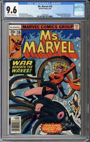 Colorado Comics - Ms. Marvel #16  CGC 9.6