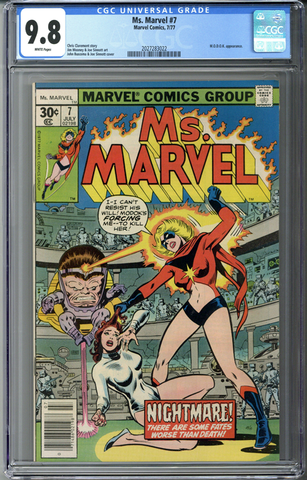 Ms. Marvel #7 CGC 9.8