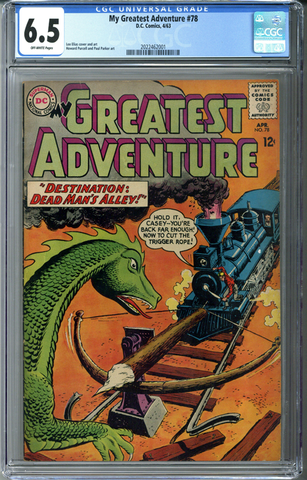 My Greatest Adventure #78 CGC 6.5