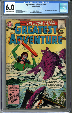 My Greatest Adventure #81 CGC 6.0