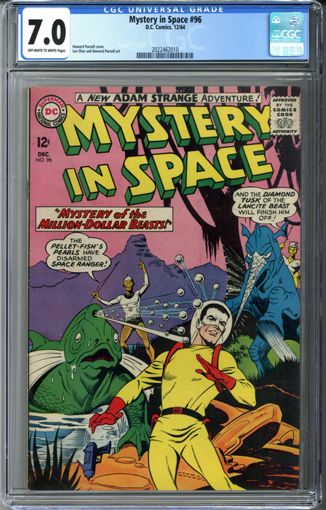 Mystery in Space #96 CGC 7.0