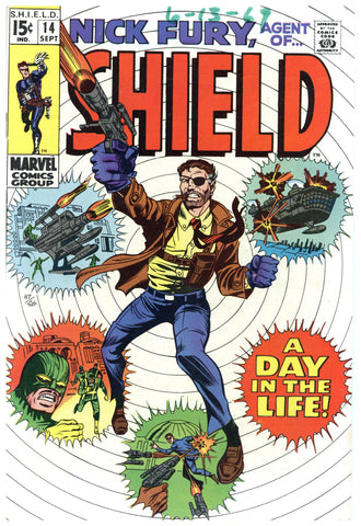 Nick Fury, agent of SHIELD #14 Fine+