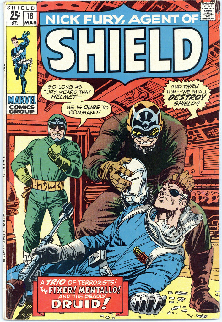 Nick Fury, Agent of SHIELD #18 VG+