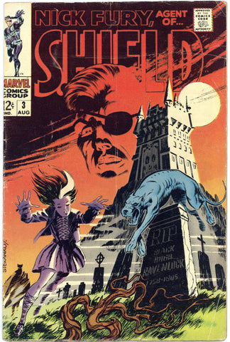 Nick Fury, Agent of SHIELD #3 VG-