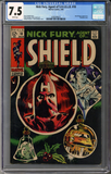 Colorado Comics - Nick Fury, Agent of SHIELD #10  CGC 7.5